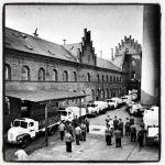 Foto antiga da Cervejaria Albani, em Odense