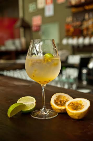 Pisco com maracujá e limão (receita)